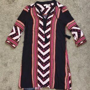 Forever 21 contemporary tribal dress